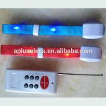 LED Optical Sound Activated Fiber Slap Wrap Bracelet Bangle Cool Use Outdoor Activities