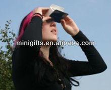 Hot selling fold up football binoculars ,paper binoculars foldable