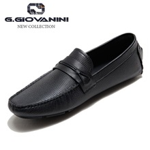 Top quality low price Tongue dyed brazil imported leather men casual loafers shoes
