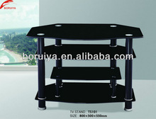 Black lacquer tv stand rooms to go furniture modern tv stand