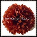 celebración de navidad gran papel de seda de flores