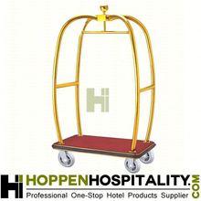 luggage trolley hotel