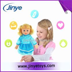 Little girl doll models cute silicone girl doll