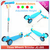 New Designs Three PU Wheels Kick Scooter For Kids +3 age