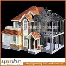 Low Price Prefab House light steel structure villa