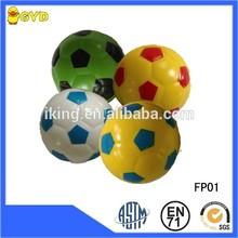 PU stress cute cheap soccer foam balls,colorful football