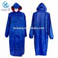 Europe type long manteau de pluie avec oxford capuchon de pluie
