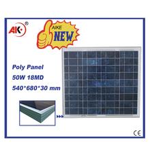 poly 50w best price per watt solar module