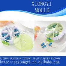 custom EU standard injection plastic pill box mold manufacturer