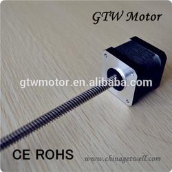 1.8 degree step motor nema 17, linear stepping motor, 17HS3001-350N84