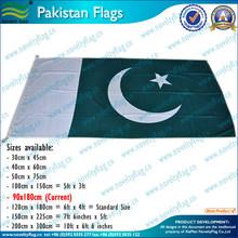 polyetser Pakistan flags