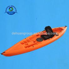 Plastic single sit-on-top fishing kayak