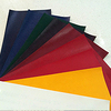 single color Vinyl pvc coated covering paper of note book cover 220g staw grain