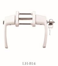 pvc balcony door handle, penetration, LH-B14