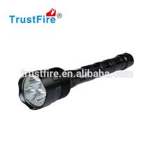 Trustfire 700m long range led flashlight of China Manufacturer TR-3T6 High Power