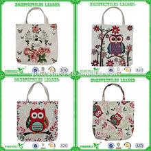 Fashion Jacquard Woven Foldable Reusable Shopping Bag