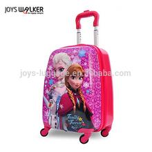 cute square shape kid's luggage