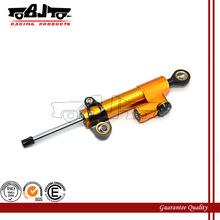 BJ-SD-001 CNC universal gold adjustable motorcycle steering damper