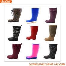 New design colorful fashion rain boots
