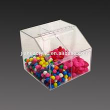 Fabricante personalizado acrílico caixa distribuidora de doces