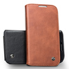 2014 QIALINO cell phone cover for samsung galaxy S4 i9500,stand function case
