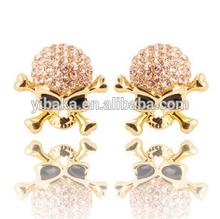 Hot Crystal Jewelry Fashion 2014 Summer Stud Earring