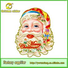christmas sticker, christmas father head sticker ,christmas santa claus face sticker