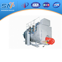 high efficient and energy saving oil fired condensing steam boiler