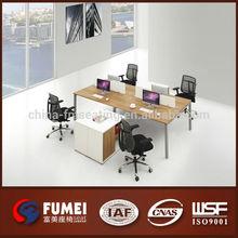 5AC406-4-24 Modern design 4 person office desk partition