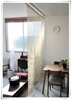 Outdoor fabric decorative balcony curtains for door