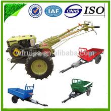 La granja implementar rotovator timón herramientas eléctricas/nombres de herramientas de jardinería/herramienta de energía diesel granja tractor con remolque!!!!