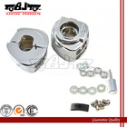 BJ-SWH265-010 Universal motorcycle switch housings chrome for 2009- later Dyna V-Rod