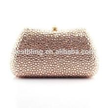 Elegant women crystal stone clutch bags evening bags stone clutch bags