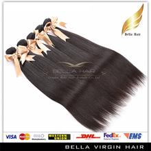Bella Wholesale High Quality Hair Extension Bundles,100% Unprocessed natural brazilian hair pieces