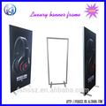 2014 nuevo diseño de la puerta shap de aluminio marco, Soporte de la bandera, Envío de pie banner