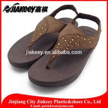 China wolesale foam rubber slipper soles women beautiful sandals Indian chappal