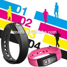 Bluetooth4.0 wirstband pedometer/Smart Calories Pedometer