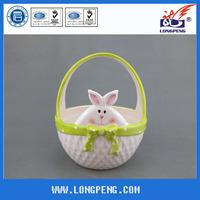 Craft Ceramic Easter Rabbit Baskets
