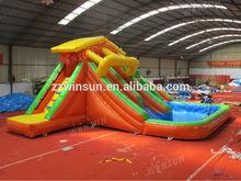pool water slides, alibaba cnsplash blast lagoon, 2015 cheap inflatable water slides aqua slides water park slides for sale