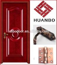 2014 Popular sale traditional door design main door wood manufacturer(HB-8080)