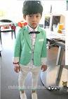 2014 new design smart fashionable boysuit,custom tailored suit