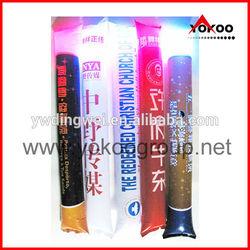 Custom Printed Inflatable LED Cheer Sticks, Bam Bam Thunder Sticks