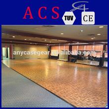 Natural Teak wood dance floor/composite wood floor/wood outside decks