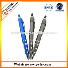 Soft rubber erasable pen with eraser