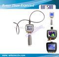 Witson flexible micro endoscopio 2.7'' con pantalla tft lcd, 8mm cabezal de la cámara, con la función de zoom
