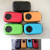 2014 new arrival promotional travel speaker, portable speaker,built in pouch for cellphone and mp3 player