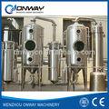Wzd eficiente y de ahorro de energía dual- etapa de frutas concentrado de jugo de la máquina