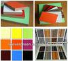 melamine mdf ,color mdf board , plain mdf