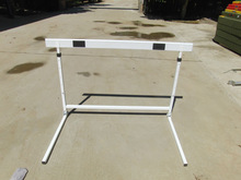 aluminum and folding hurdle for training and competition