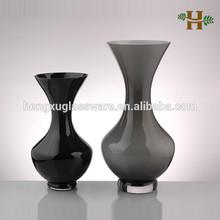 soffiato matrimonio vetro svasato apertura vaso di vetro